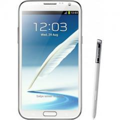 Телефон Samsung N7100 Galaxy Note II Ceramic white